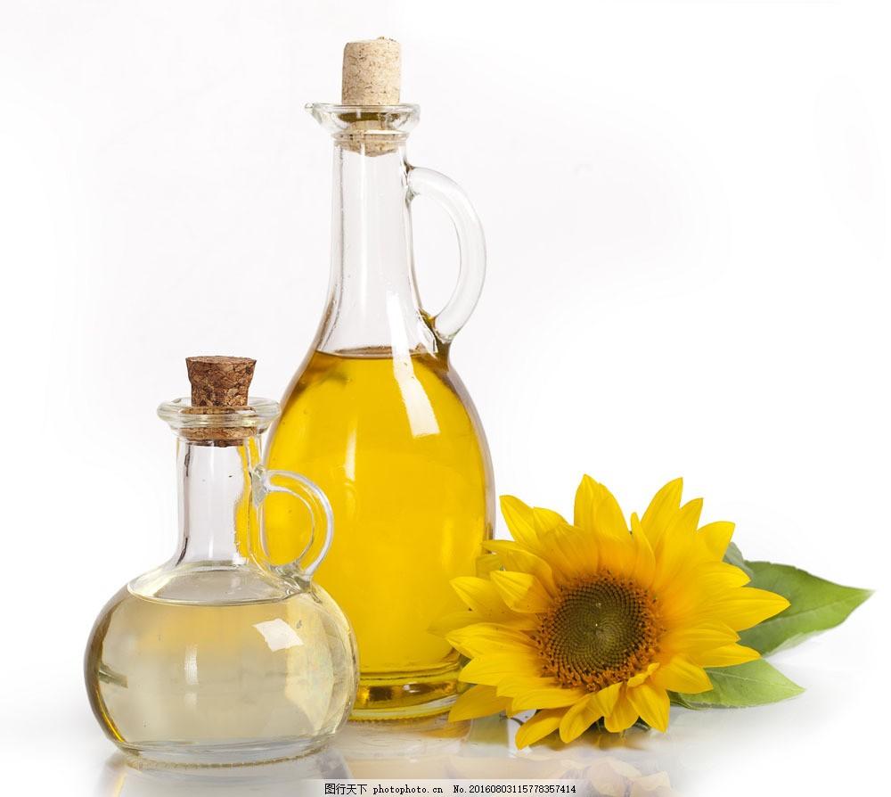 水和食用油图片素材 食物 餐饮美食 美味 可口 鲜花 向日葵 葵花油 水