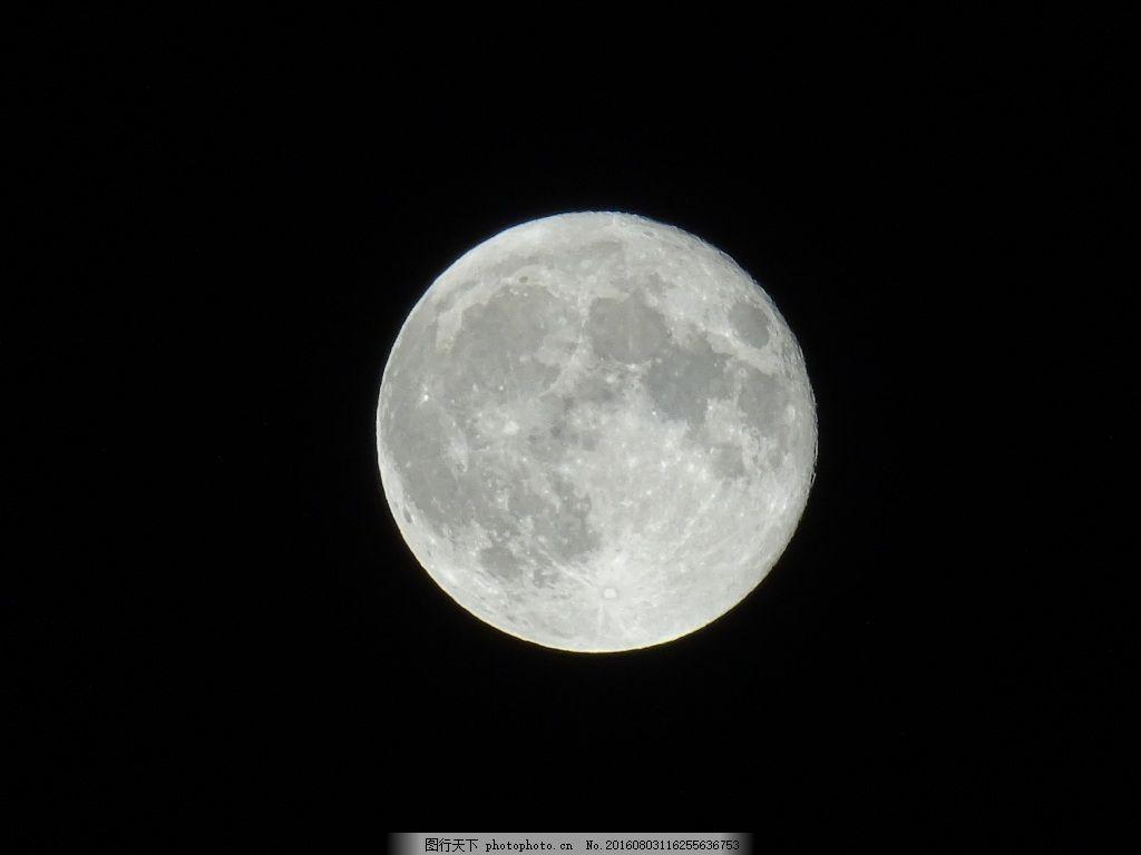 夜 满月 月亮 夜晚的天空 月光 中秋圆月 中秋素材 中秋背景     黑色
