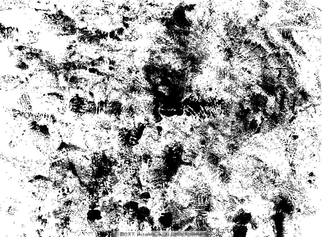 水墨划痕背景 黑白 抽象 泼墨背景 划痕素材 设计元素 斑驳花纹