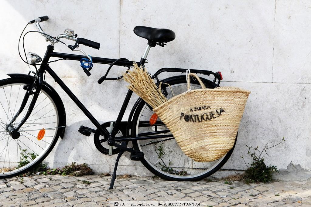 老式自行车图片