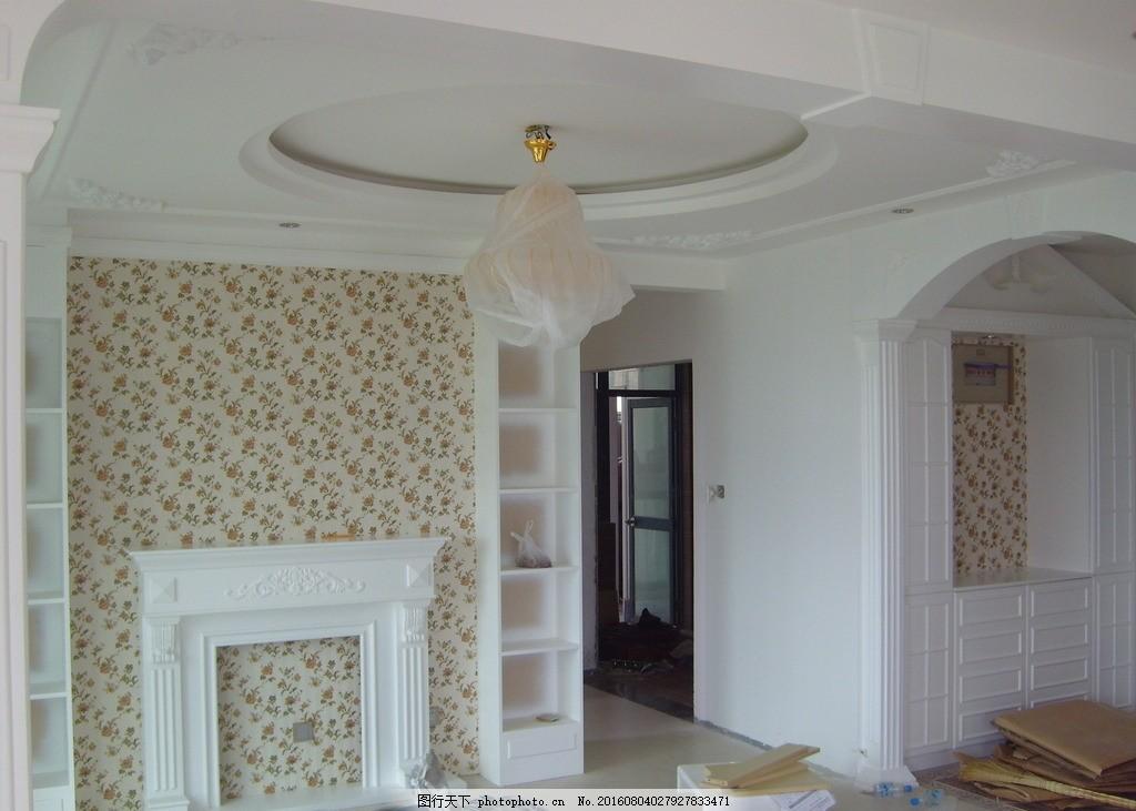 影视墙 简约影视墙 欧式影视墙 吊顶 欧式吊顶 拱门 设计 环境设计