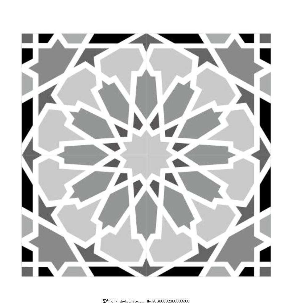 传统元素 古代建筑 皇宫图案 黑白传统元素 中国元素 线描稿 古代吉祥