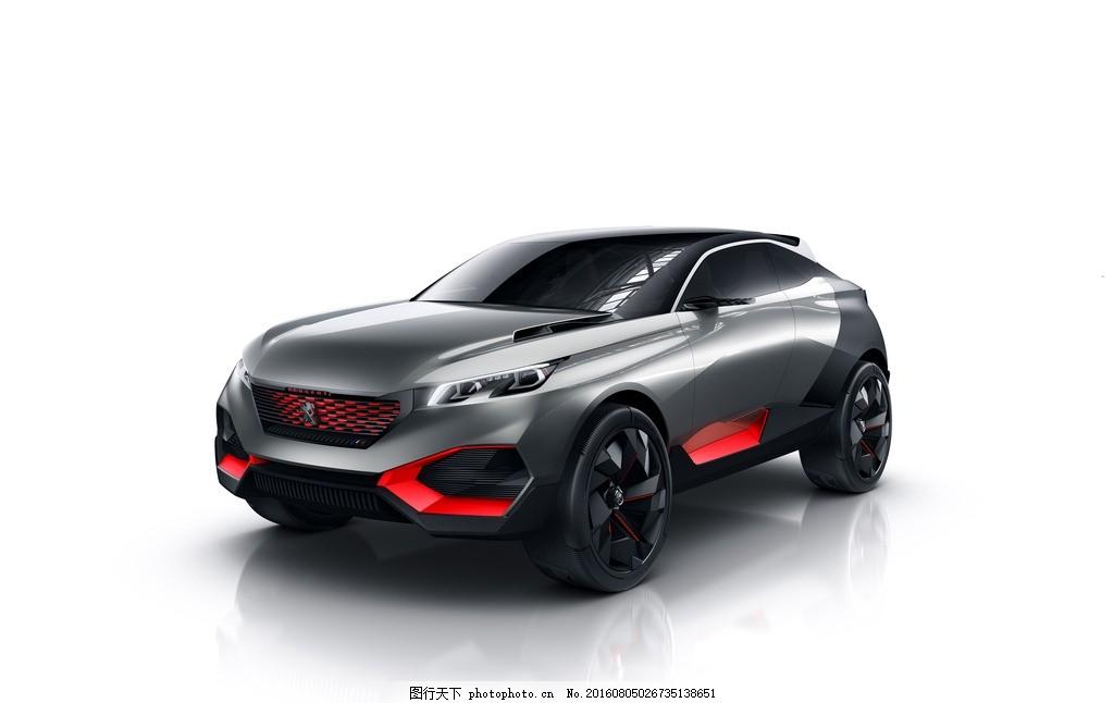 东风 跑车 概念车 标致 黑色 背景 越野车 酷炫 科幻 未来感