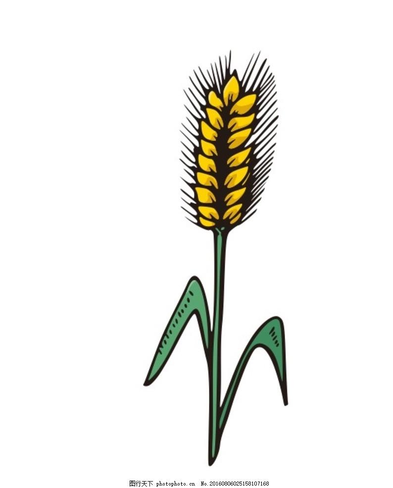 帽子麦穗织法图解
