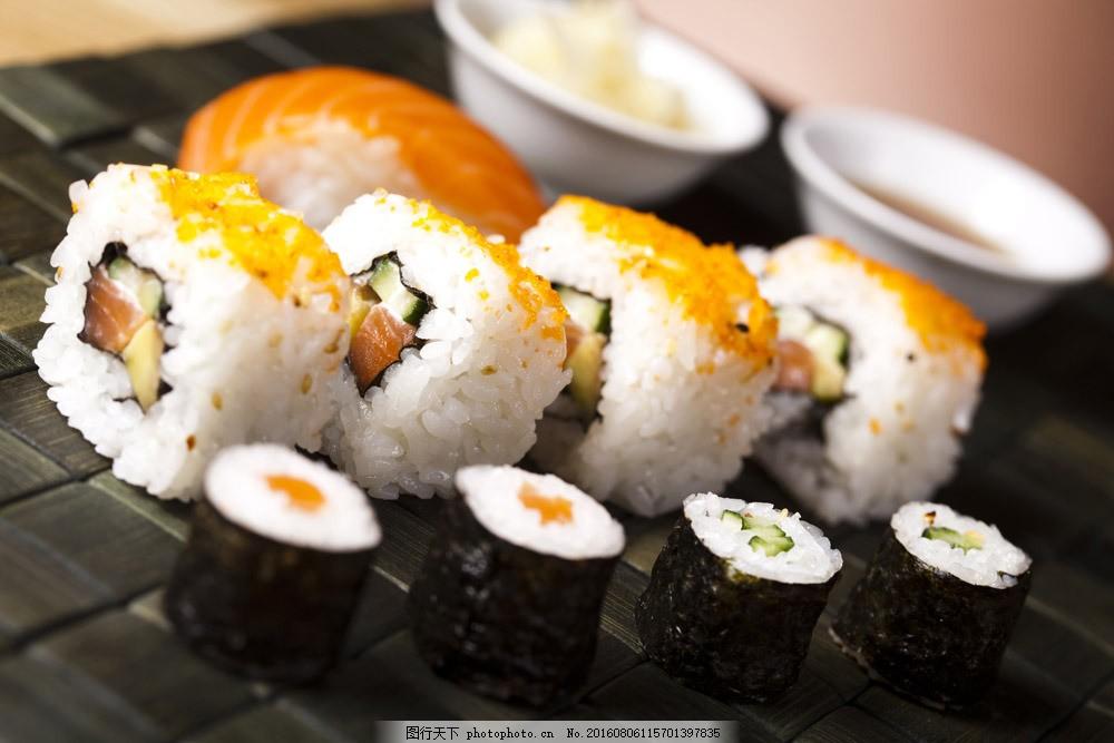 日本寿司料理 日本寿司料理图片素材 肉类美食 烤肉 菜肴 国外美食
