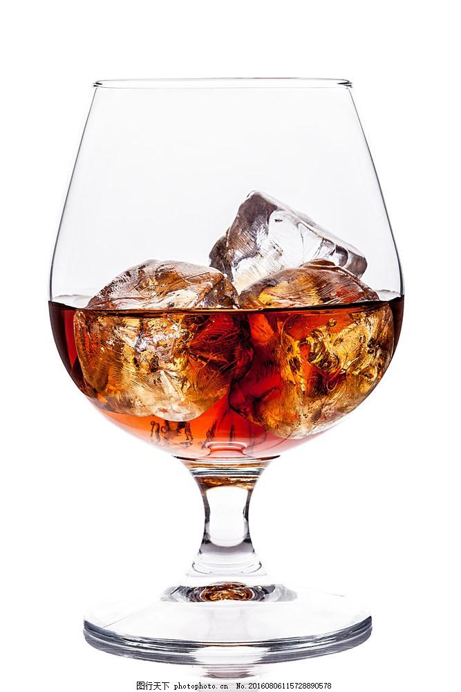 高清酒杯摄影图片素材 红酒 红酒杯 冰块 玻璃杯 饮料 饮品 酒水 餐饮