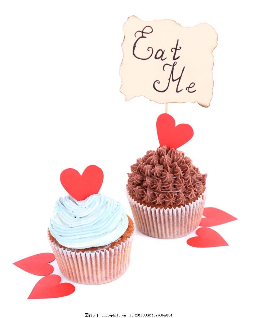红色心形蛋糕图片素材 蛋糕 红心 爱心 食材原料 餐后甜点 烘焙食品