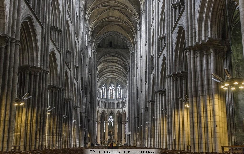 哥特式 教堂内景 哥特 哥特风格 教堂 大教堂 教堂建筑 内景 内部图片
