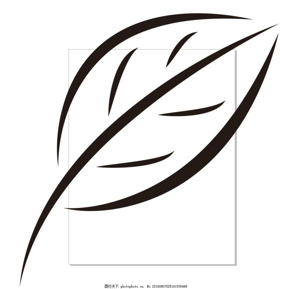 简笔画 线条 线描 简画 黑白画 卡通 手绘 简单手绘画 矢量图 花草