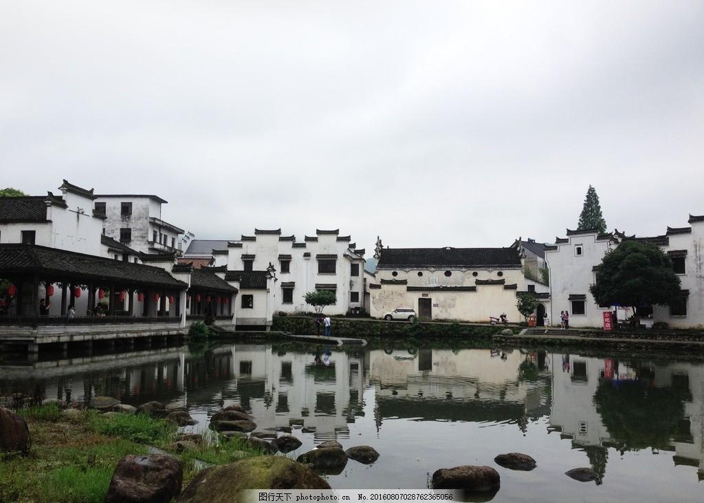 古风古典建筑 古风古代 古典建筑 富阳龙门 徽式建筑 江南水乡 山水