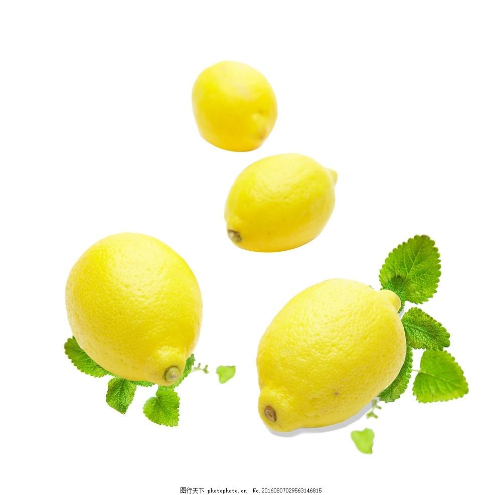 柠檬 水果主题 手绘水果 矢量 水果素材 新鲜水果 矢量水果素材