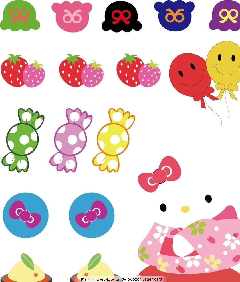 小动物 可爱动物 矢量动物 底纹背景 服装印花 印花 印花素材 动物