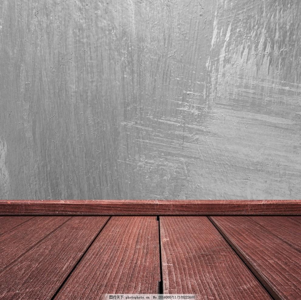 空间木纹水泥背景底纹