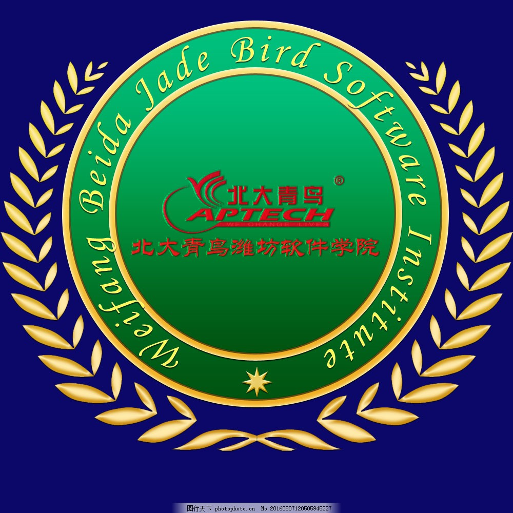 欧式校服logo