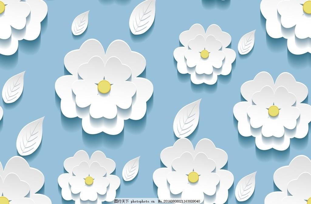 洋甘菊背景 鲜花 花朵 花瓣 小花 温馨