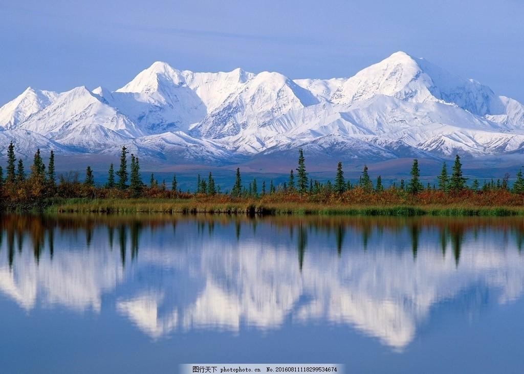 阿拉斯加州南极海域 阿拉斯加州 冰川 冰山 冰河 冰冻 寒冷 冬季 冬天
