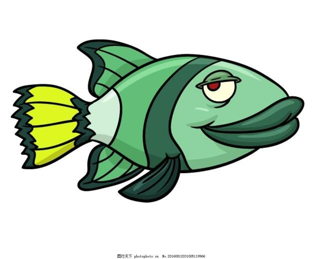 卡通鱼 鱼卡通 喷绘鱼 可爱鱼卡通 卡通 鱼 海鱼 大鱼 卡通系列 海洋
