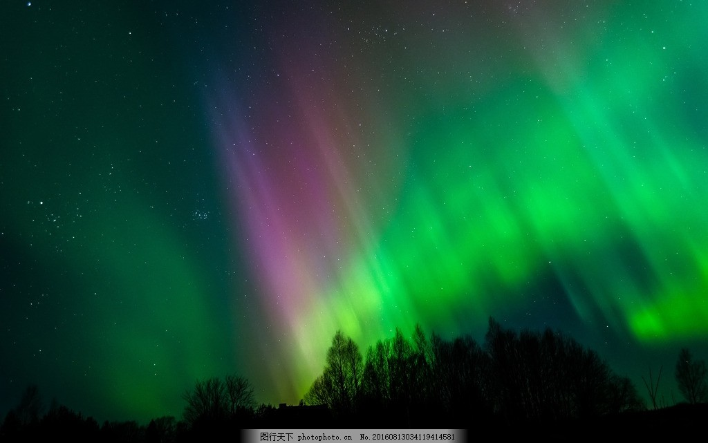 自然 奇观 极光 美丽极光 梦幻极光 北极光 摄影 自然景观 自然风景