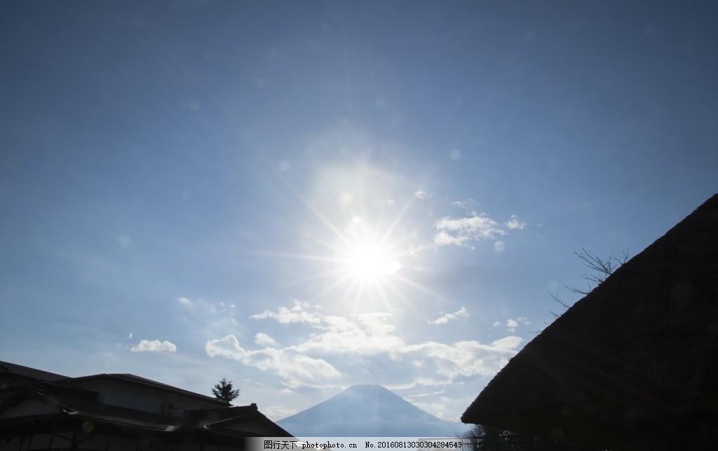太阳 阳光 天空 蓝天 晴天 中午 摄影 自然景观 自然风景
