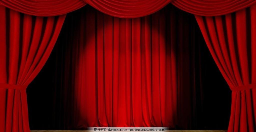 帘幕 帘幕源文件 幕布 酒红色幕布 舞台 木地板舞台 聚光 话剧舞台 高