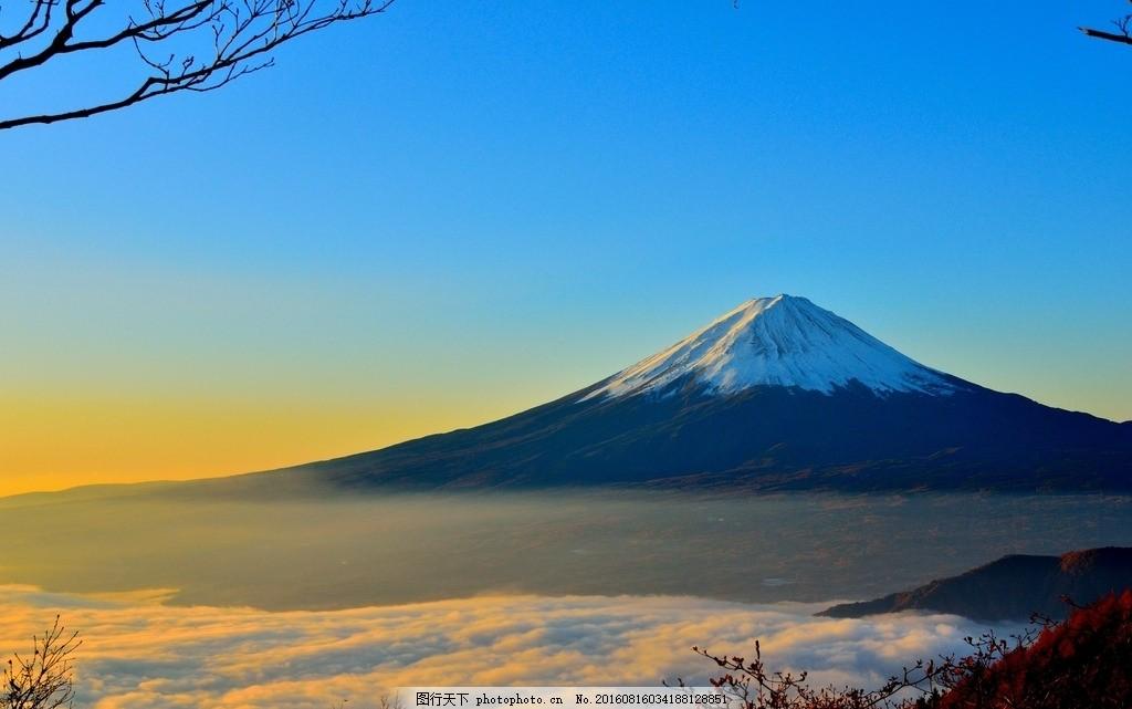 云海富士山 云海 富士山 云朵 高山 雪山 自然 风景 装饰画 风光 摄影
