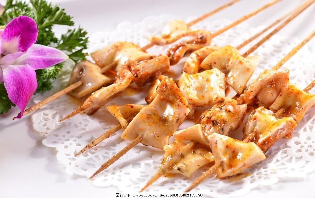 烤筋皮 烧烤 烤串 熟筋串 撸串 锦州烤串 烧烤菜品 美食烧烤美食