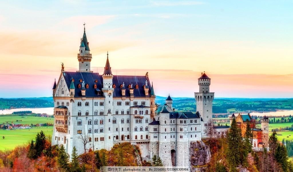 巴伐利亚 唯美 风景 风光 旅行 欧洲 德国 欧式建筑 摄影 国外旅游