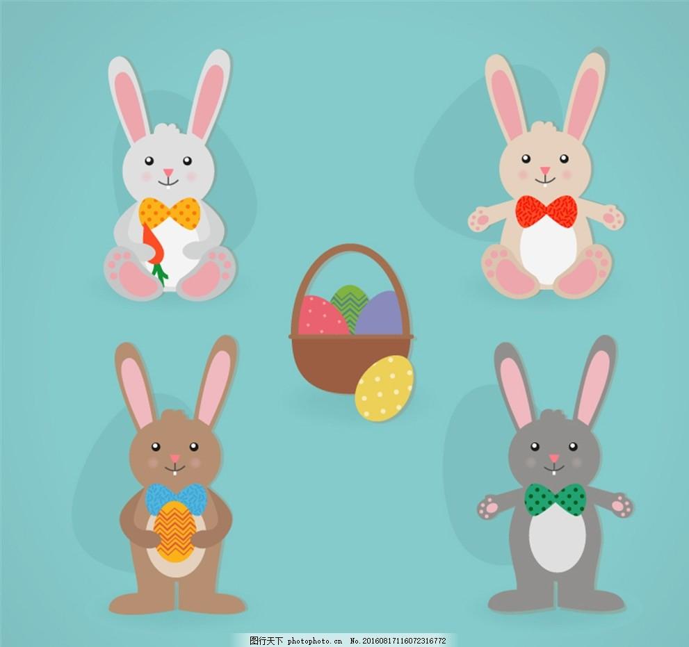 ...土制作兔子玩偶 橡皮泥兔子手工制作_橡皮泥教程 - 育才手工网