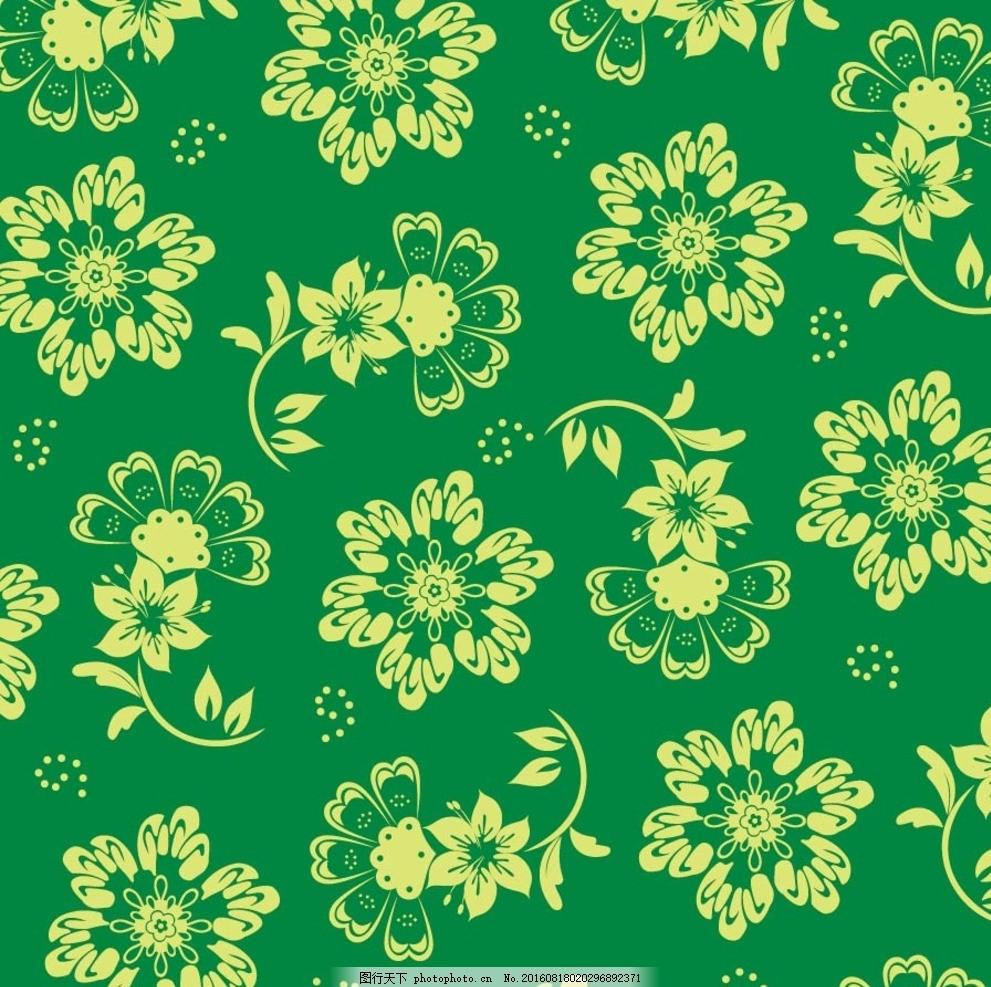墙面背景图简笔画绿色