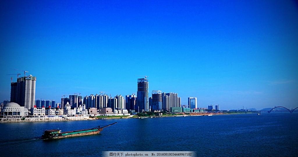 长沙渔人码头 长沙风景 湘江风景 银盆岭大桥 摄影