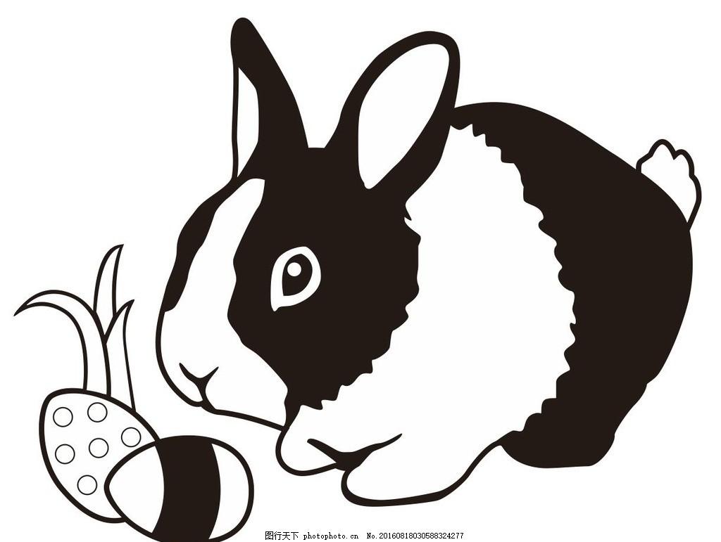 艺术插画插画装饰画简笔画线条线描简画黑白画卡通手绘简单