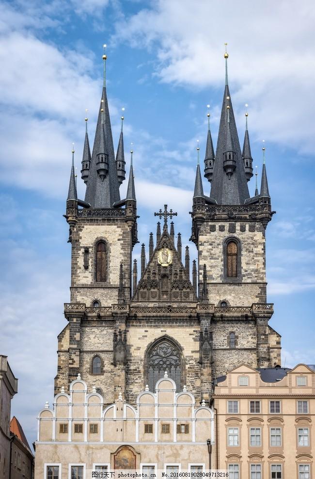欧洲建筑 房子 教堂 欧美风格建筑 风格建筑 300ppi 摄影 建筑园林 建