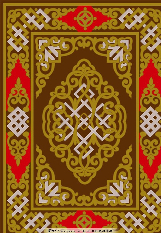 蒙古图案 蒙古元素 蒙古 蒙古花纹 民族      设计 底纹边框 花边花