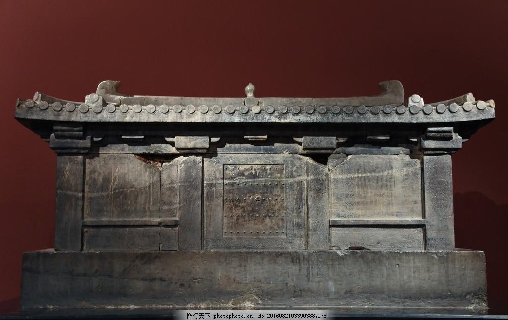 唐代建筑 西安 碑林 博物馆 明器 摄影 国内旅游