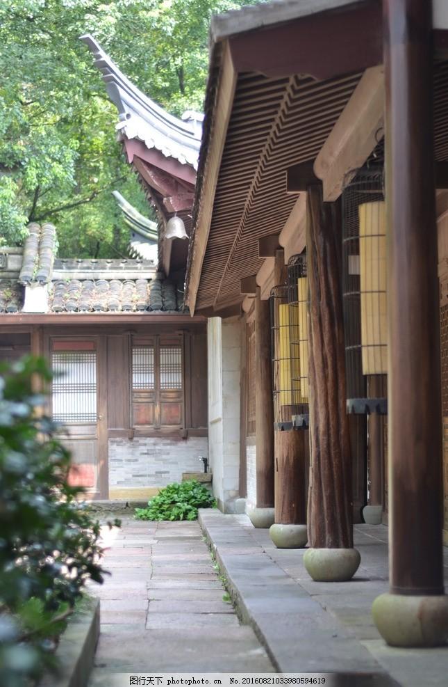 古寺 木结构建筑 榫卯结构 营造法式 典范 宁波景点 中式建筑 古建筑