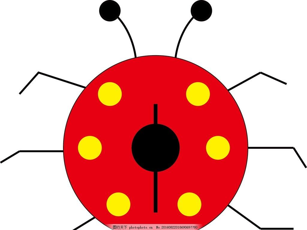 金龟子 儿童 可爱 动画 矢量图 设计 动漫动画 其他 ai
