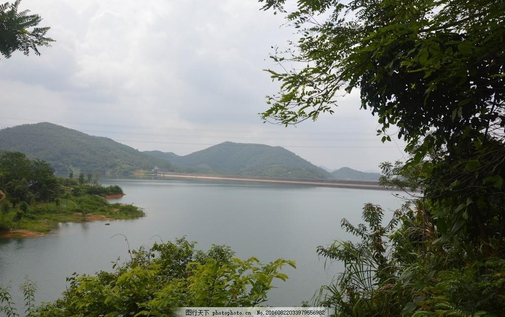 清溪湖 东莞市 清溪森林公园 银瓶嘴山系 旅游 摄影 高清 国内旅游