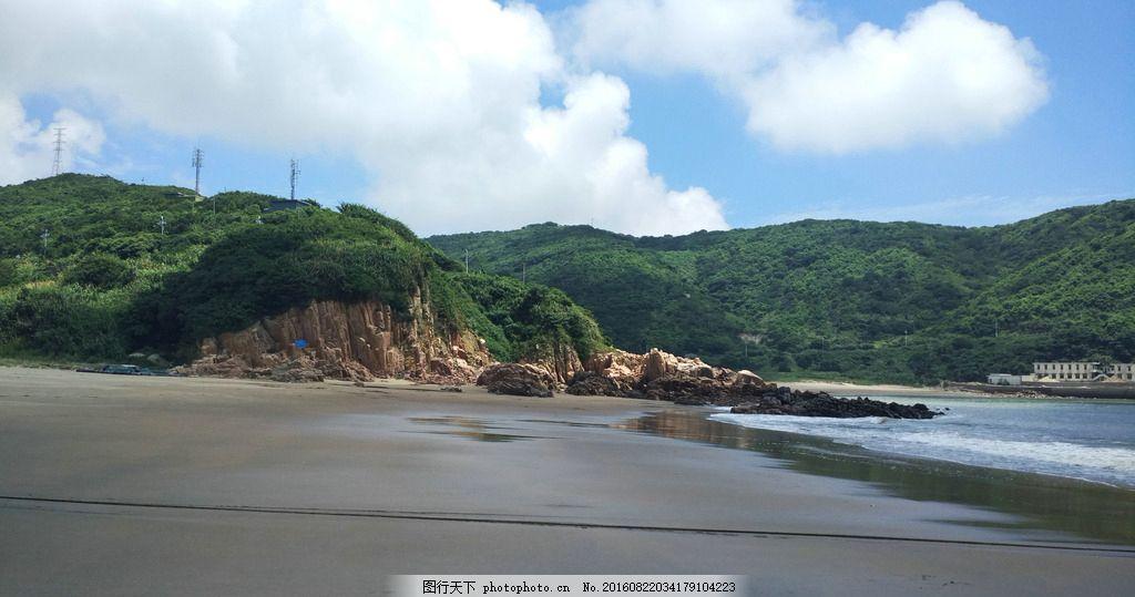 浙江 舟山 嵊泗列岛 大海 东海 高山 山岛 渔村 渔家乐 蓝天白云 泗礁