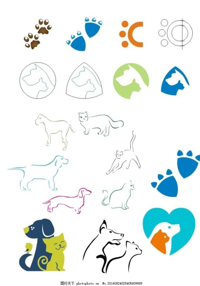 pet宠物卡通图标