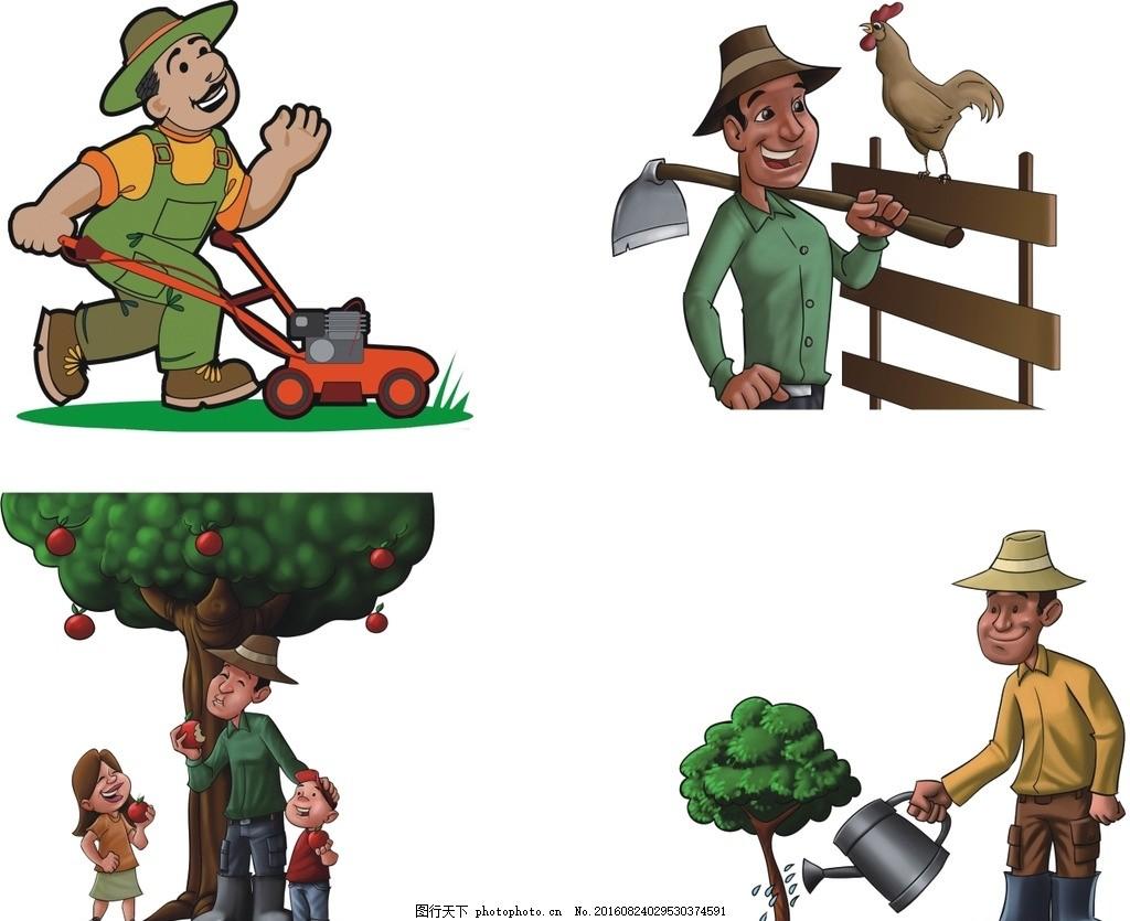 农场卡通人物