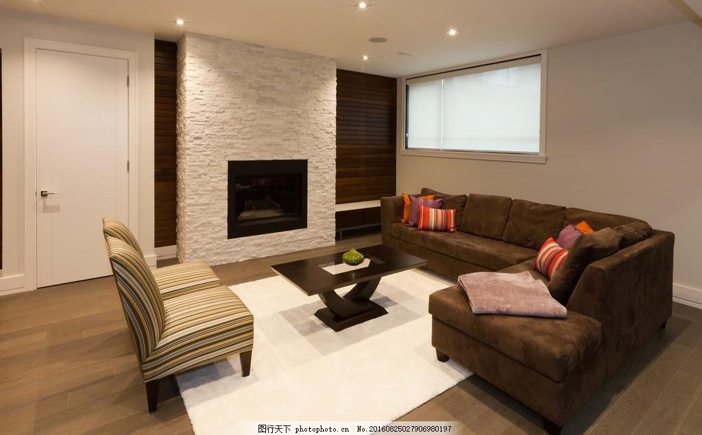 唯美 家居 家具 欧式 简洁 简约      木地板 黑沙发 黄色系 设计