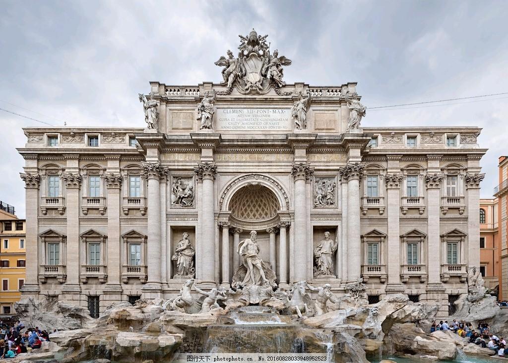 罗马建筑 唯美 风景 风光 旅行 人文 城市 欧洲 意大利 古罗马