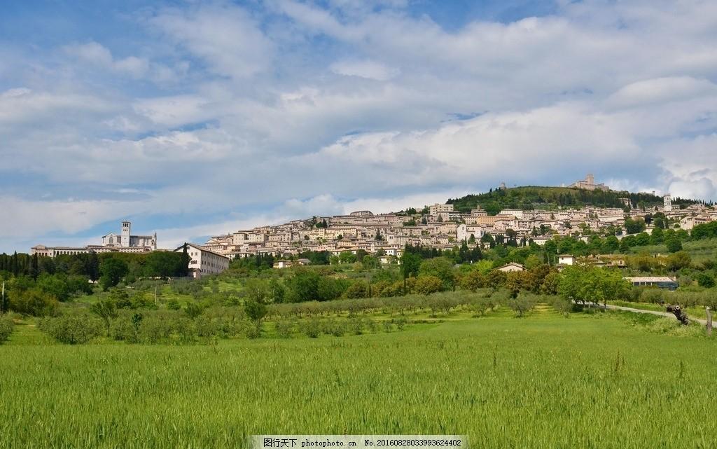 阿西西城 唯美 风景 风光 旅行 人文 城市 意大利 浪漫意大利