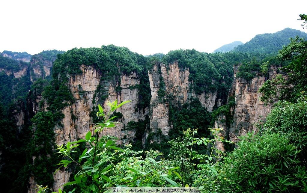 张家界 张家界风景区 风景 湖南 重庆 旅游 森林公园 武陵源 险峻