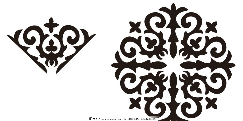 设计图库 高清素材 人物  新疆 哈萨克族 花纹 新疆哈萨克族 哈萨克族