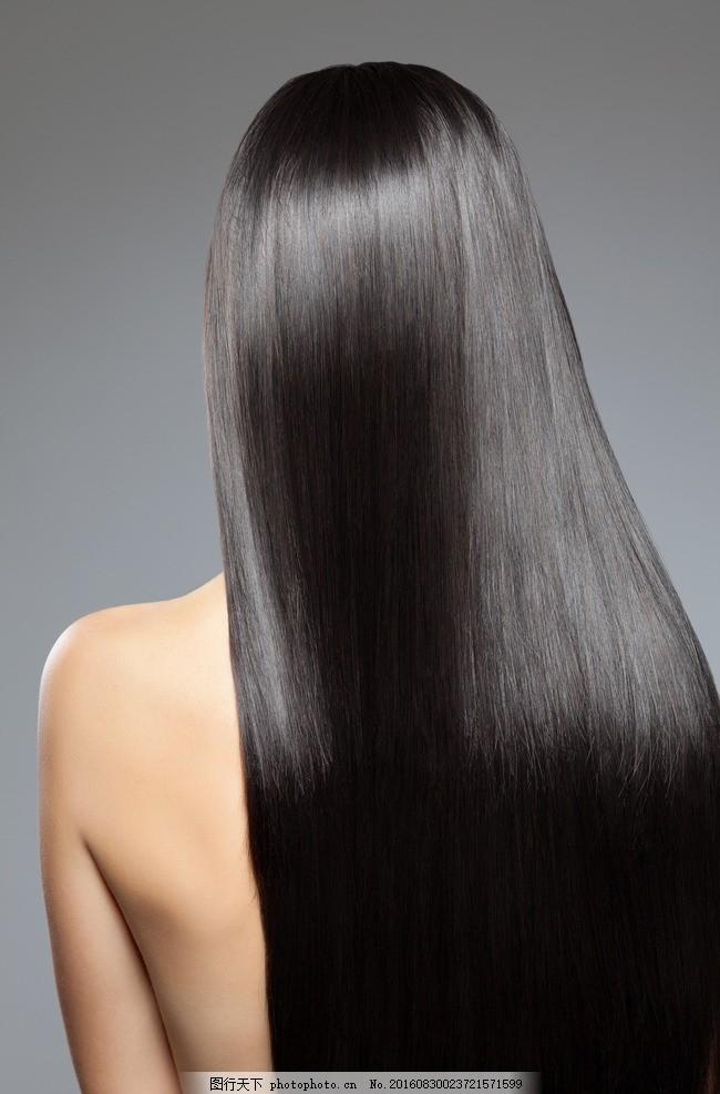 长发美女 黑发美女 黑长发美女 直发 长直发 黑长直发 气质美女
