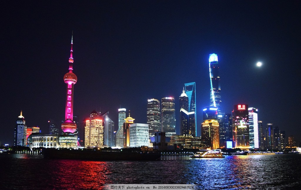 夜景 西洋建筑 古典建筑 南京东路 现代建筑 教堂 广场 步行街 欧式