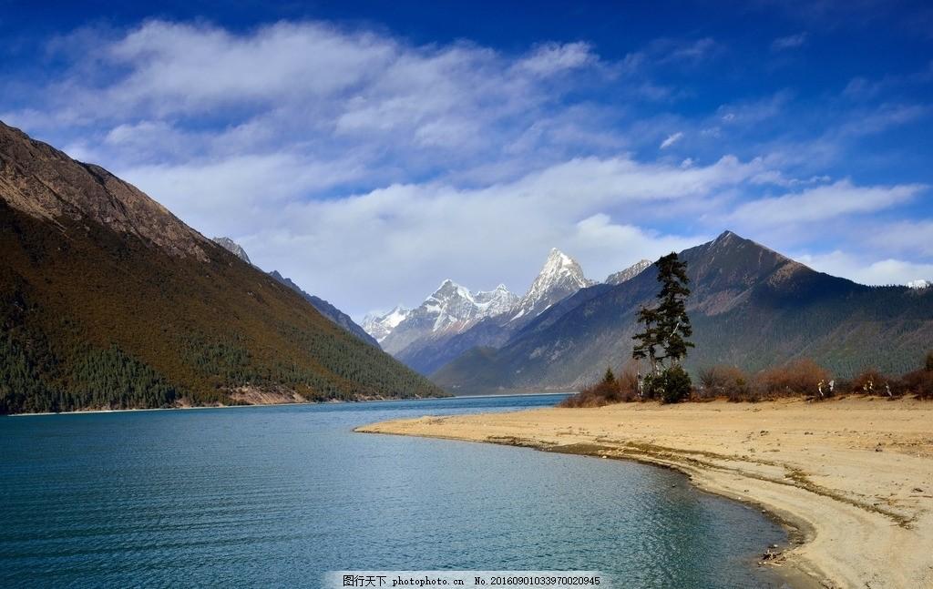 唯美 风景 风光 旅行 自然 西藏 藏族自治区 巴松错 山水 浪漫 原生态