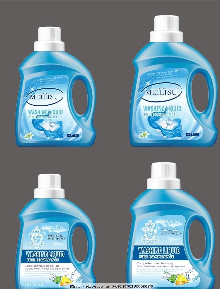 洗衣液 洗衣液包装 不干胶 矢量图 洗衣液不干胶 设计 广告设计 包装