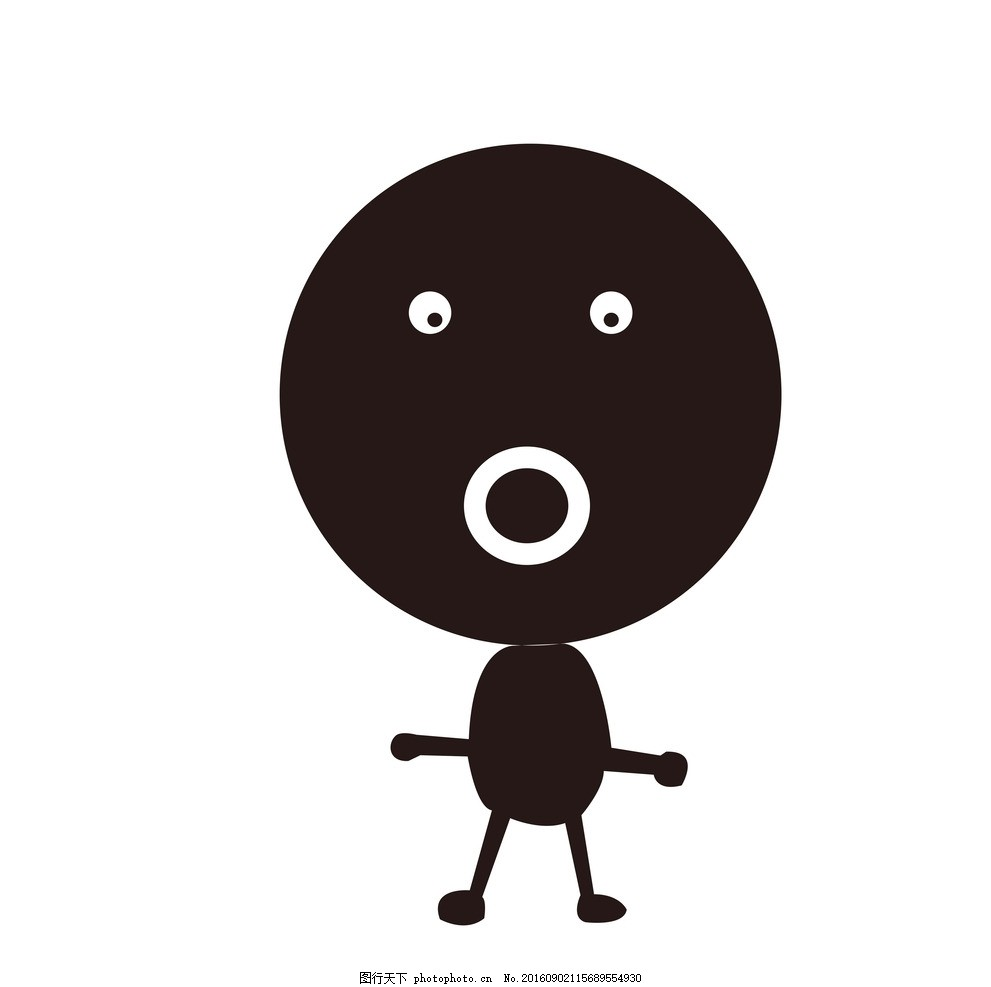 搞笑图 小人 搞笑 搞笑小人 黑色 黑色小人 卡通 卡通小人 卡通搞笑